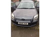 Toyota avensis disel. Part service history