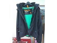 Super dry coat XL very good condition, not worn very much.