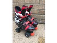 Quad Skates adjustable size 3-5