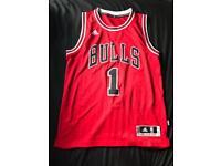 Chicago bulls basketball ball vest