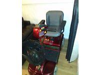 Electric wheel chair