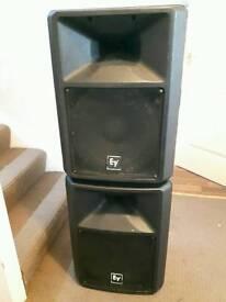 EV SX300 PA Speakers