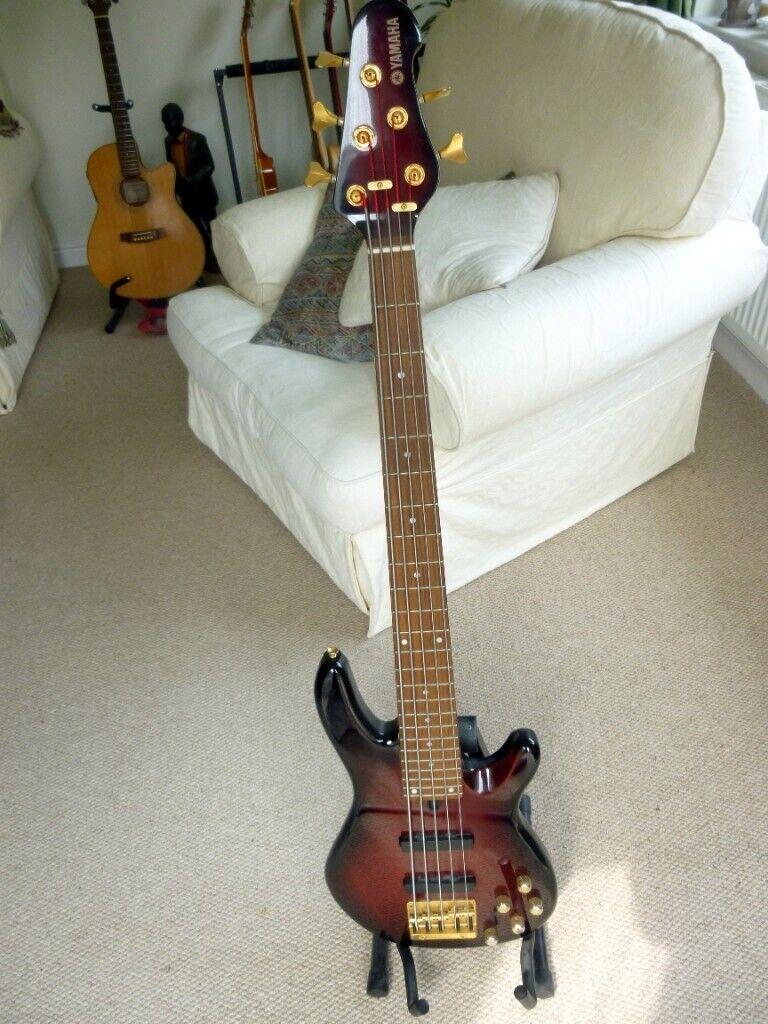 Yamaha BB606 5 string Active bass