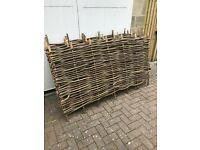 Hazel fence panels brand new