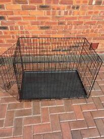 Black Medium Pet Cage