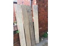 4x 6ft Scafold Boards - Ideal for Furniture Used & Good Condition