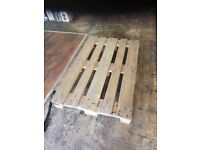 Big wooden pallet free to collect