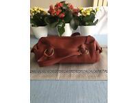 Kew Red Leather Handbag