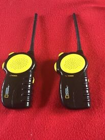 Pair of walkie talkies - National Geographic