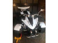 White 350cc Viper Super Snake