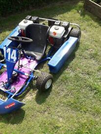 Go Kart / 3x Honda GX160 engines