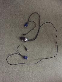 2 port VGA KVM adaptor