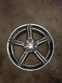 """Vauxhall alloy wheels 18"""" FOX"""
