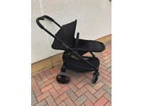 iCandy Strawberry 2 black chassis with anthracite flavour pack