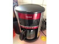 Coffee Maker Percolator Morphy Richards Little use as new 240v Good Working Order