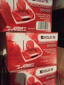 Audio video sender