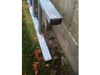 5m Ladder Single Heavy Duty - steel - Galvanised - Great Condition!