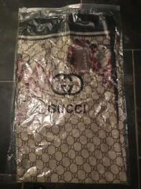 Gucci scarfs shawls new condition