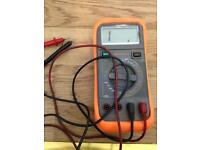 Blue point (snap on) multi meter in protective case