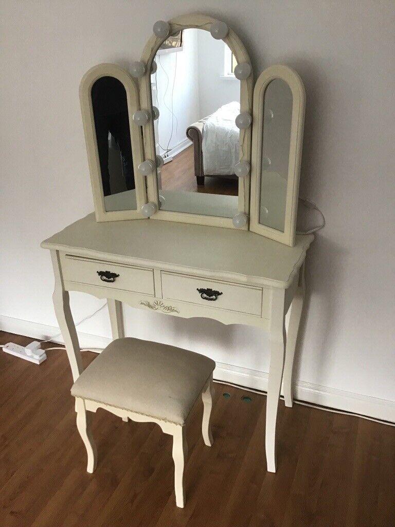 af47631baf Dressing Table, Triple Mirror and Stool Set - Elise Cream Range | in ...