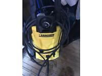 Kärcher k4 pressure washer
