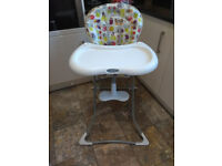 Child high chair in good condition