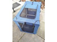 Free Canvas Dog Crate