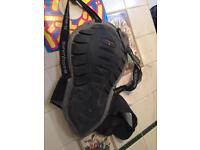 Motorcycle back protector