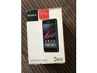 Sony Xperia E1 mobile phone New in box