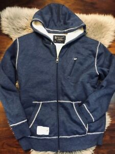Marc Ecko with Sherpa lines hoodie