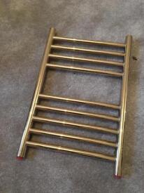 Small vintage towel rail