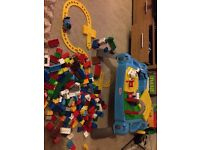 Thomas & Friends Large Mega Bloks Bundle including Play Table 250+ pieces