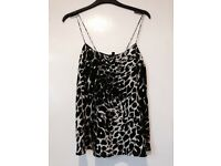 New with tags topshop boutique top 100% silk