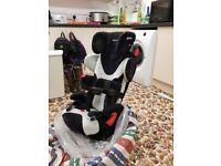 Recaro special needs car seat with isofix swivel base