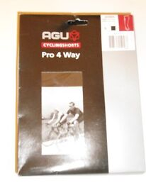 LADIES Agu Cycling Shorts Pro 4 Way Black – Size: S.