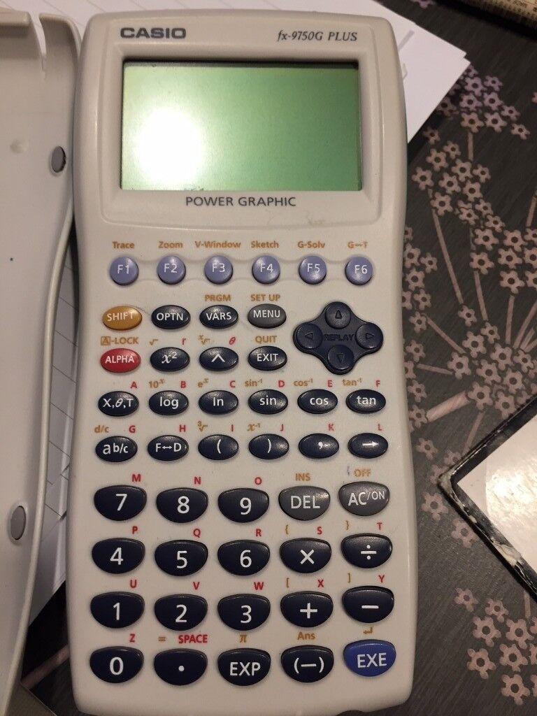 Casio Power Graphic FX-9750G PLUS 32KB Memory - Calculator in Excellent Condition
