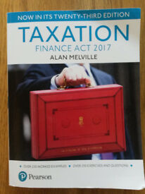 Taxation Finance Act 2017, Alan Melville, Pearson, Paperback.