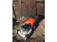 Flymo petrol push mower