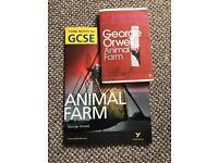 George Orwell's Animal Farm Book & GCSE Animal Farm York Notes