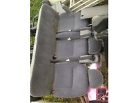 Ford transit tourneo seats /crew seats/rear seats