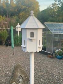 Garden pigeon dovecote
