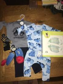 Bnwt bundle of baby boy clothes £5 for the lot