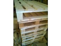 Top Quality Pallets, Clean and Chemical Free Upcycling