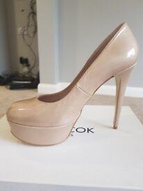 Brand new original leather high heels