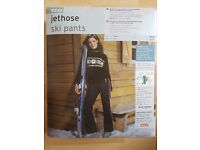 Ladies TCM Ski Pants - UK 16/18