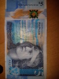 Collecters Quirky Fiver