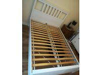 Ikea Hemnes double bed frame for sale