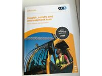 CITB Health safety and environment test book 2017