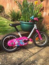 Decathalon girls bike 14 inch