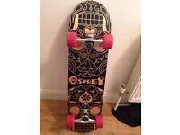 Osprey Skateboard with shoulder bag